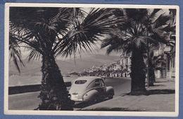 Turkey Izmir License Plate,Peugeot 203,old Car,old Photo Postcard - Turchia