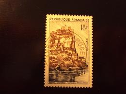 "1957    -timbre Oblitéré N°  1127    ""    Beynac  ""       Cote 0.30 Net 0.10 - France"