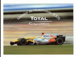 AUTOCOLLANT - FORMULE 1 - RENAULT - Fernando ALONZO (esp) - Autocollants