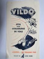 """Buvard : """"VILDO"""", Pâte Pour Chaussures De Toile - Produits Ménagers"""