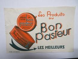 """Buvard : Crème De Luxe De """"BON PASTEUR"""" - Produits Ménagers"""