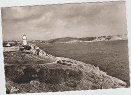 DAV : Finistère :  PORT  MANECH : Vue  , Plage De  Kerfany  , Phare - France