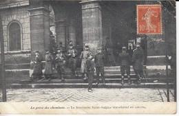 La Grève Des Cheminots Le Séminaire Saint Sulpice Transformé En Caserne - Grèves