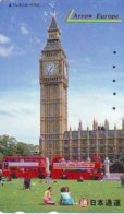 Télécarte Japon ANGLETERRE * ENGLAND *  LONDON * BUS (347) GREAT BRITAIN Related *  Phonecard Japan * - Paisajes