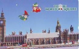 Télécarte Japon ANGLETERRE * ENGLAND *  LONDON * BIG BEN (348) GREAT BRITAIN Related *  Phonecard Japan * - Paisajes
