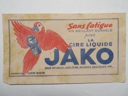 """Buvard : Sans Fatigue, Un Brillant Durable Avec La Cire Liquide """"JAKO"""" - Produits Ménagers"""