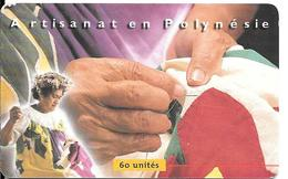 CARTE-PUCE-POLYNESIE-60U-PF88-GEMA -07/99  -TIFAIFAI-UTILISE-TBE - French Polynesia