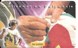 CARTE-PUCE-POLYNESIE-60U-PF88-GEMA -07/99  -TIFAIFAI-UTILISE-TBE - Polynésie Française