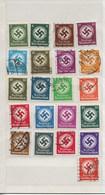 Beau Petit Lot De Timbres  (dienstmarken) - Deutschland