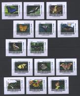 Deutschland Biberpost 'Schmetterlinge Aus Dem Elbauenpark' / Germany 'Magdeburg Butterfly House' **/MNH 2013 - Schmetterlinge