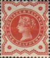 """USED  STAMPS -Great-Britain - Queen Victoria - Inscription """"POSTAGE AND INLAND REVENUE"""" 1881 - Used Stamps"""