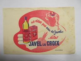 "Buvard : ""Javel La CROIX"" - Produits Ménagers"