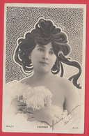 CPA Belle Élégante Ann.1900 - Coiffure Stylisée - DESPREZ _ TOP** 2 SCANS - Donne