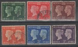 Gran Bretagna 1940 - Centenario Del Francobollo              (g5456) - Usati