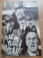 "The Beatles >> ""Yeah! Yeah! Yeah! (A Hard Day's Night)"" Mit Paul McCartney, John Lennon... NFP-Filmprogramm Von 1964 /a1 - Magazines"