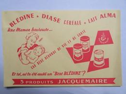 """Buvard : """"BLEDINE, DIASE CEREALE, LAIT ALMA"""", Jacquemaire - Drogisterij En Apotheek"""