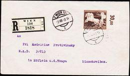 1940. 42 + 108 PF DAS BRAUNE BAND 7WIEN 136 -8. VIII. 40. R WIEN 136. (Michel 747) - JF123735 - Deutschland