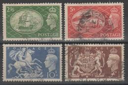 Gran Bretagna 1951 - Soggetti Vari              (g5457) - Usati