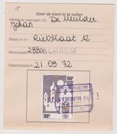 TR 464 - Bornem - Chemins De Fer