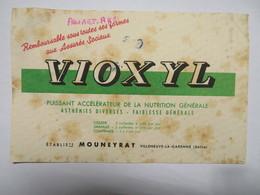 """Buvard : """"VIOXYL"""", Puissant Accélérateur De La Nutrition Générale - Drogisterij En Apotheek"""