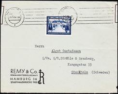 1939. Deutschen Reichspost 25 Pf. HAMBURG 14.11.39. To Stockholm, Schweden. Geöffnet. (Michel 713) - JF182035 - Allemagne