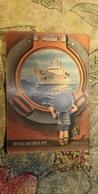 3D Stereo Lenticular Russian USSR Small Calendar 1981 Advertising Soviet Morflot Ukrainy Rechflot Boy  - - Advertising - Calendars