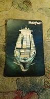 Pocket Calendar USSR - 1990 - Black Sea Shipping Company - Cruise Ship - Relief - Advertising MORFLOT - Calendriers