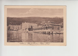 Abbazia Opatija Hotel Palace Postcard (st620) Ed. Abucalil 1924 - Croatie