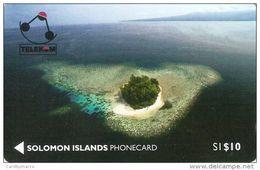 *ISOLE SALOMONE - 01SIC* - Scheda Usata - Solomoneilanden