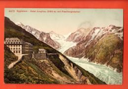VAU-12 FiescherGletscher-Eggishorn Auf Aletschgletscher. Hotel Jungfrau.  Nicht Gelaufen. Photoglob 4473 - VS Valais