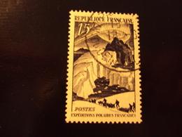 """1949     -timbre Oblitéré N° 829      """"   Expeditions Polaires    """"      Côte   0.50      Net    0.15 - Oblitérés"""
