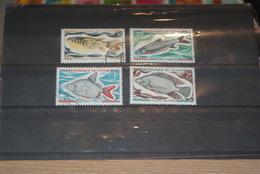 Lot Timbres Oblitérés Poissons TCHAD - Chad (1960-...)