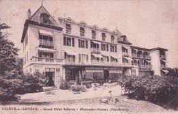 France 74, Salève Sur Genève,Grand Hôtel Bellevue, Monnetier - Mornex (249) Petit Pli D'angle - Autres Communes