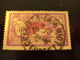 """1927     -timbre Oblitéré N° 240     """" MERSON   3F Lilas      """"      Côte   2.30      Net   0.75 - 1900-27 Merson"""