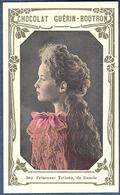 Chromo Chocolat Guerin-Boutron 2e Livre D'or Célébrités Contemporaines 502 Princesse Tatiana De Russie Fille Du Tsar - Guerin Boutron