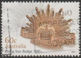 AUSTRALIA - USED 2012 60c Rising Sun Badge  - 1991- - 2010-... Elizabeth II