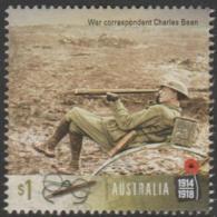 AUSTRALIA - USED 2017 $1.00 Centenary Of World War I 1917: War Correspondent - Charles Bean - 2010-... Elizabeth II