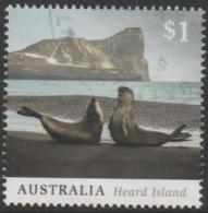 AUSTRALIA - USED 2017 $1.00 Heard Island - Seals - 2010-... Elizabeth II