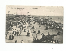 CPA Southsea View Of The Beach From South Parade Pier - Non Classificati