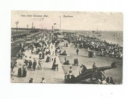 CPA Southsea View Of The Beach From South Parade Pier - Non Classés