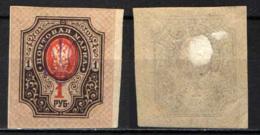 UCRAINA - 1918 - FRANCOBOLLO DELLA RUSSIA CON SOVRASTAMPA - MH - Ucraina