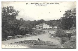 """LA MONTAGNE - Les Quatre Routes """"Le Chat Qui Guette"""" - La Montagne"""