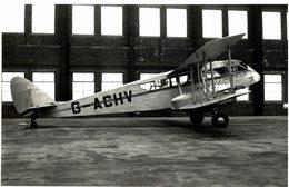 De Havilland DH Dragon RAILWAY AIR SERVICE   16 * 10 Cm - Aviación