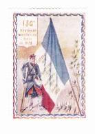 Vignette Militaire Delandre - 136ème Régiment D'infanterie - Militario