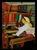 Tear Manual Tisseuse Wesveress Textiles 1982 VIANA DO CASTELO Local Pmk Maximum Cards Portugal Mc708 - Textile