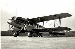 De Havilland DH  Dragon    RAILWAY AIR SERVICES CITY OF CARDIFF   21 * 14 Cm - Aviación