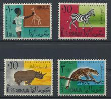 °°° SOMALIA - Y&T N°6/8 + 7 PA - 1960 MNH °°° - Somalia (1960-...)