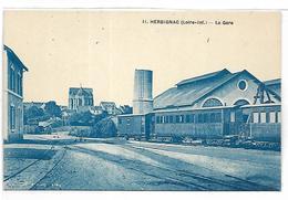 HERBIGNAC - La Gare, TRAIN - Herbignac