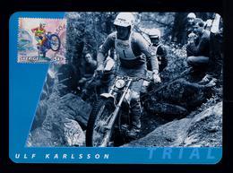 Ulf Karlsson Motorcycles Sports Motos Motorbikes Transports 2002 Motocross Maximum Cards SWEDEN Mc712 - Motos