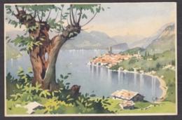 93942/ Illustrateur Silvio BONELLI, Lac Italien - Autres Illustrateurs